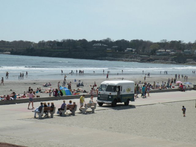 Easton's Beach - Newport RI