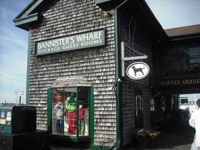 Bannisters Wharf Newport RI