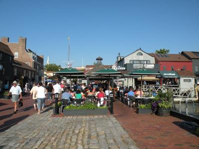 Bowens Wharf Newport RI
