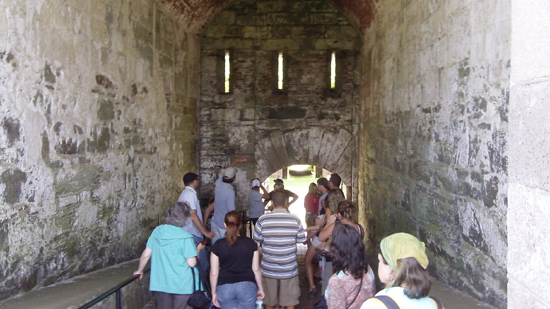 fort adams tour