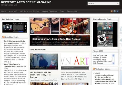 Newport Arts Scene Magazine