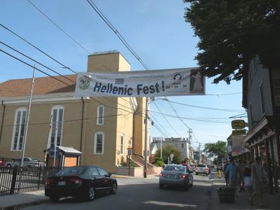 newport greek festival