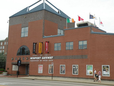 newport visitors center
