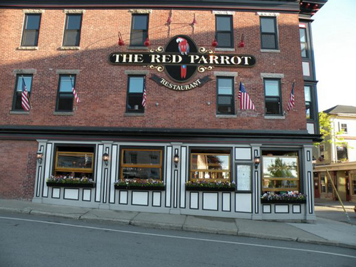 Newport Rhode Island Restaurants Red Parrot