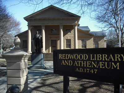 Redwood Library Athenaeum Americas Oldest Lending Library