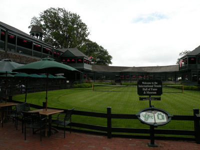 tennis hall of fame
