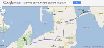 1st Beach to Fort Adams