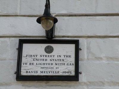 pelham street gas lamp