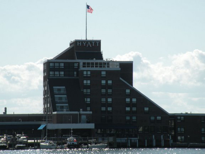Hyatt hotel Newport RI