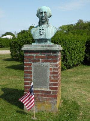 john adams statue