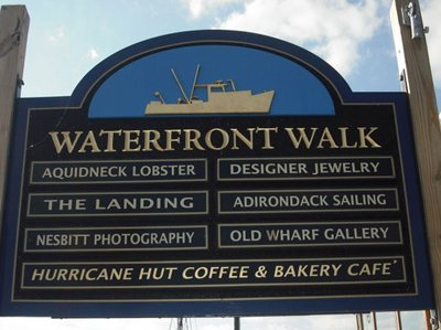 Newport Rhode Island Waterfront Walk