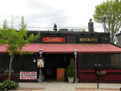 Sardellas Restaurant Newport Rhode Island