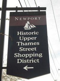 Thames Street Newport RI